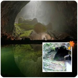 collage мамонт пещера 2