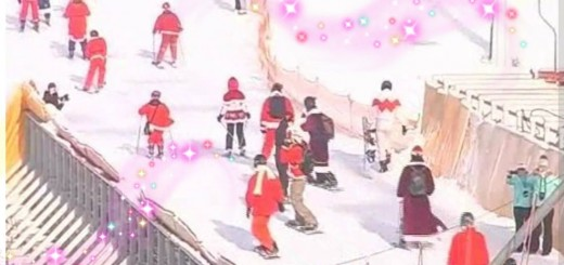 Фестиваль Дедов Морозов на Буковеле