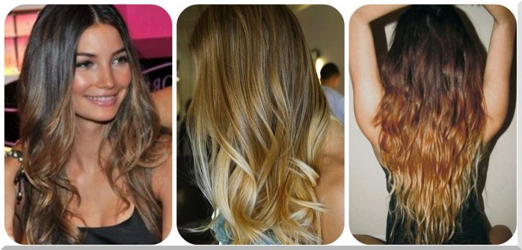 Beauty Things / покраска волос 2014 фото омбре