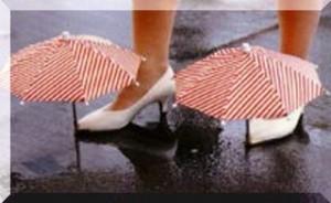 беречь обувь от дождя