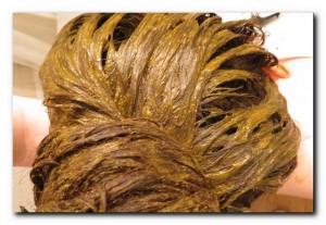 покрасить седые волосы