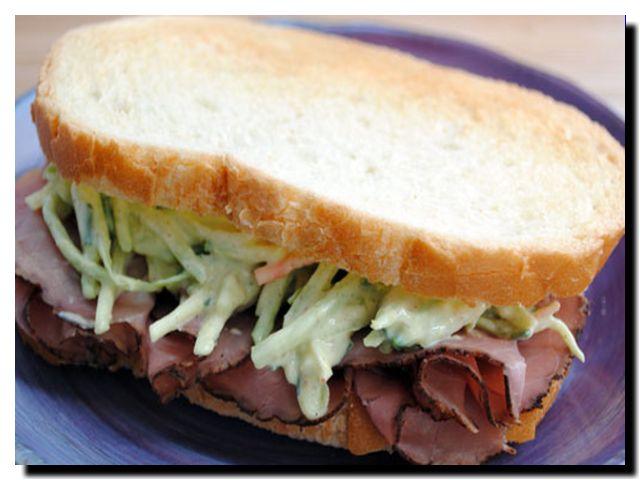 бутерброд с говядиной