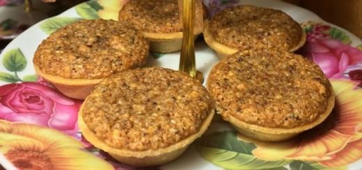 франжипан ореховый десерт