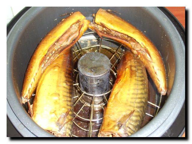 мультиварка коптильня Ves SK-A 60 копчение рыбы