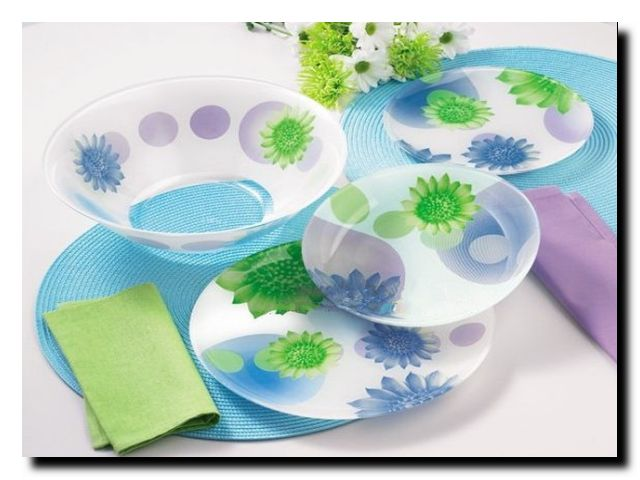 весна в доме посуда