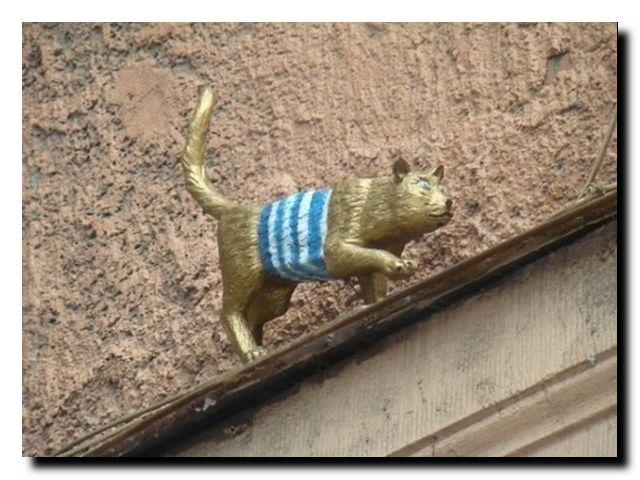петербург памятники котам