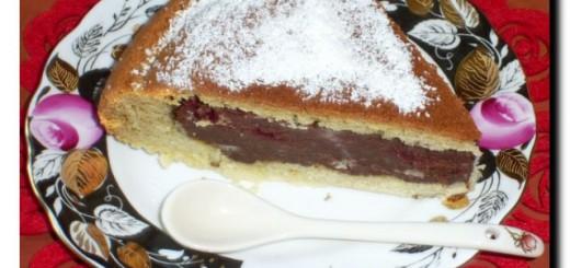 торт вишнево-шоколадный