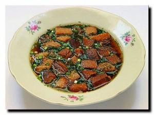 простые холодные супы