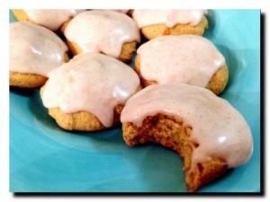 медовое печенье в глазури