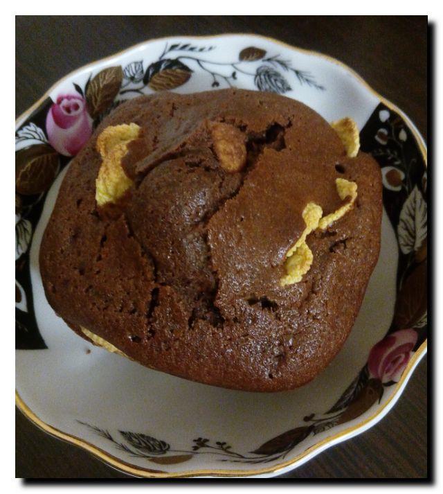 кекс шоколадный с какао