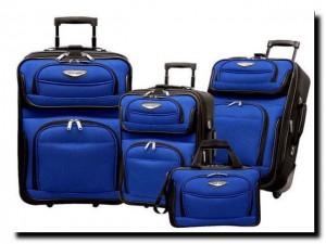 большой выбор чемоданов