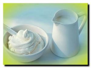 список кисломолочных продуктов