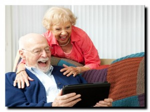 интернет и пожилые люди