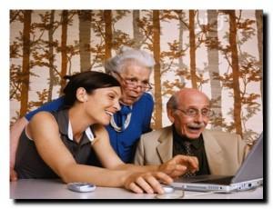 интернет и старые люди