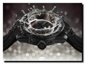 часы и вода