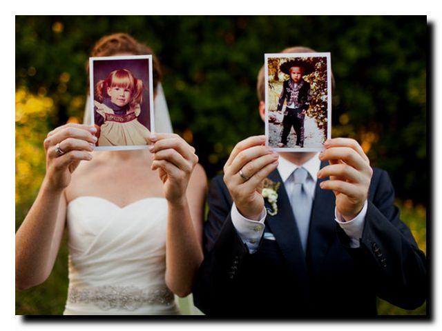 интересные свадебные фотографии