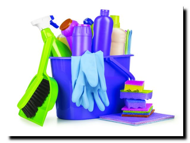 весенняя уборка квартиры