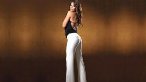 С чем можно носить белые брюки