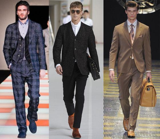 Как правильно носить стильные деловые мужские костюмы.