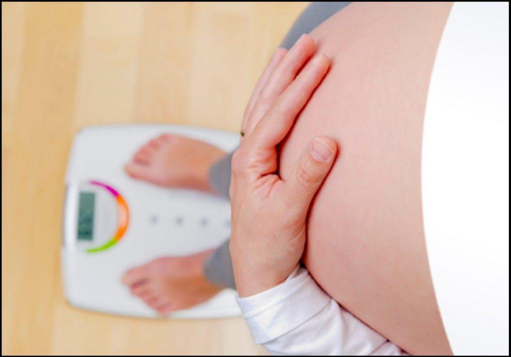 Набор веса будущей мамочки