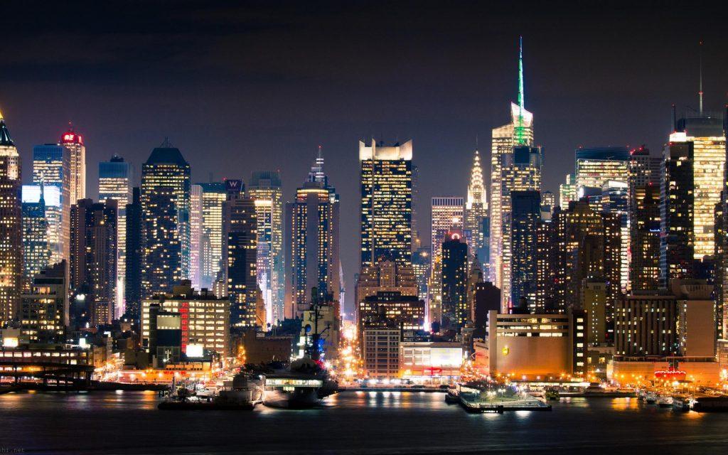 Нью-Йорк -отдых для городских
