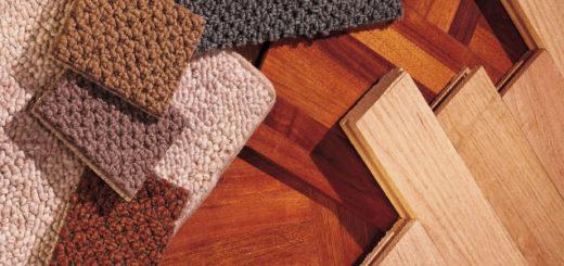 Разновидности напольного покрытия