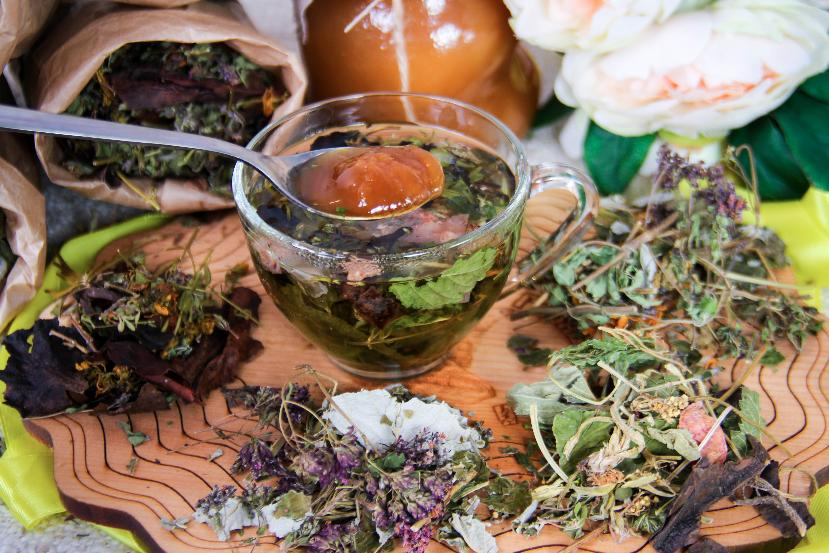 Чаи на травах для похудения