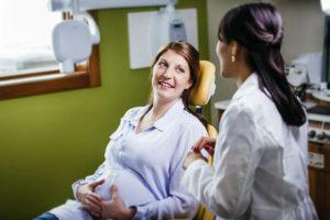 Посещение стоматолога при беременности