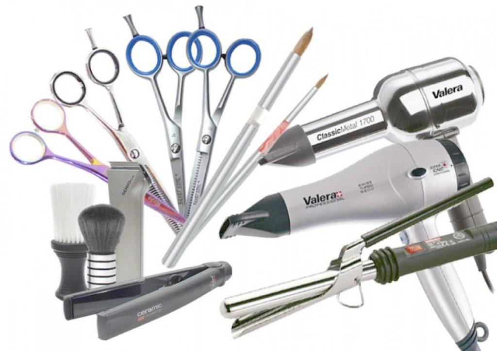 Необходимый минимум инструментов для начинающего парикмахера.