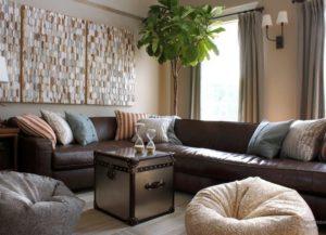 Кожаный диван - стоит ли приобретать?