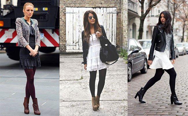 Теплые колготы – стильный аксессуар зимнего образа.