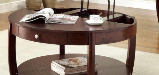 Практично, модно, удобно - журнальные столы-трансформеры