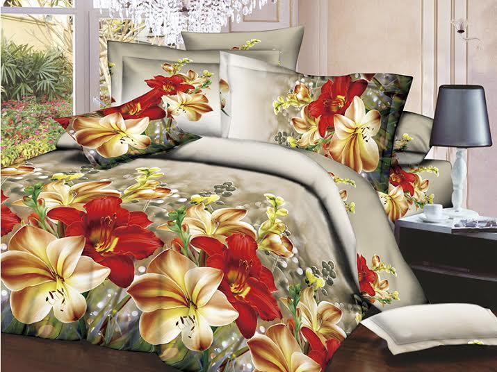 Постельное белье с фотопечатью - нотка роскоши в интерьере спальни.