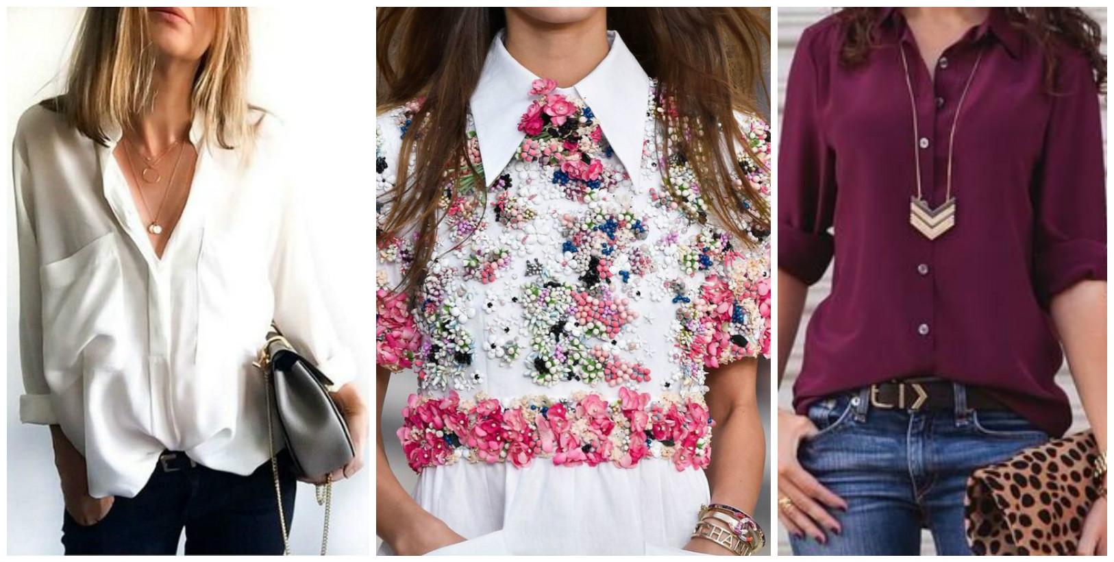 Какие Блузки В Моде 2017