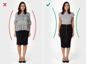 Какие ошибки совершает женщина при подборе одежды