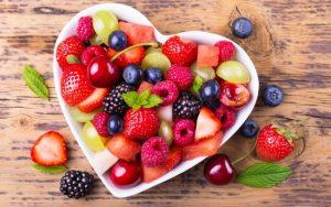 Летние фруктовые салаты