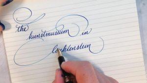 Как научить писать красиво