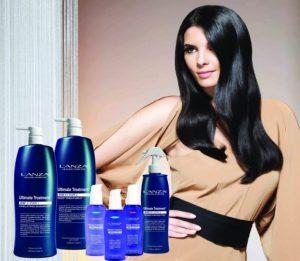 Кератиновое протезирование волос Lanza
