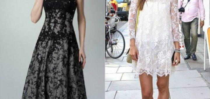 Мода на гипюровые платья.
