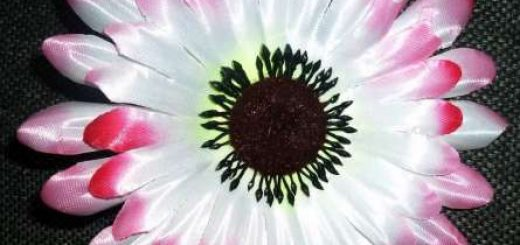 Как распарить головки искусственных цветов