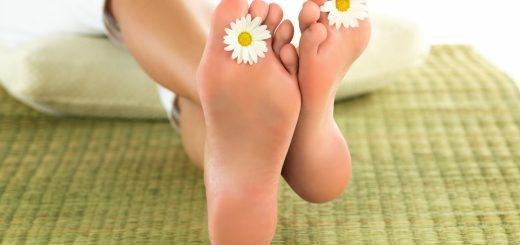 Чтобы ноги оставались красивыми
