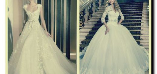типы силуэтов платьев невесты