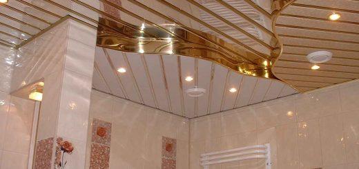Реечный потолок от начала до конца