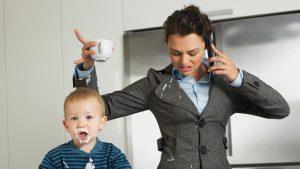 Как совместить работу и семью