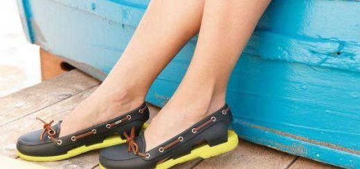 Preimushhestva obuvi Crocs.